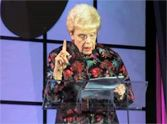 This elderly woman has the hilarious timing of any young stand up comedian! Listen to this speech and prayer she gives while accepting an award... you will laugh SO hard at this.
