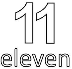 images of number 11 | coloring-pages-number-11-eleven.jpg