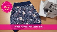 Waist Skirt, High Waisted Skirt, Textiles, Refashion, Sewing, Skirts, How To Wear, Dresses, Youtube