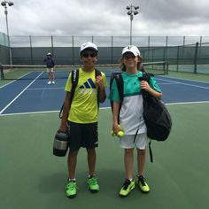 William Schwartzman def. R0y Rich@ 6-3; 6-2 in the B12s Round of 32 at the South Bay Summer Open (Level 5) #tenniskids #USTA #ProKennex