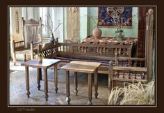 Traditional Armenian Furniture (by Vano Dadoyan)  Excelent examples of traditional Armenian furniture made without nails or glue. These photos demonstrate how strong the traditional attachments are.