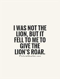 i was not the lion but it fell to me - Google Search