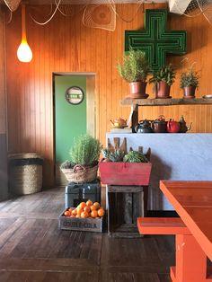 Ibiza - Los Enamorados - hotel - Portinatx - colorful - interior - eclectic Ibiza, Tiny Shop, Pink Design, Vintage Colors, Colorful Interiors, Tiny House, Planter Pots, Shops, Gardening