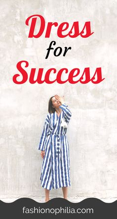 "What does it mean to ""Dress for Success""? And how do you actually wear outfits that get you prepped up for success? Business Professional Outfits, Corporate Outfits, Business Outfits, Budget Fashion, Fashion Hacks, African American Women, Dress For Success, How To Look Classy, Minimalist Fashion"