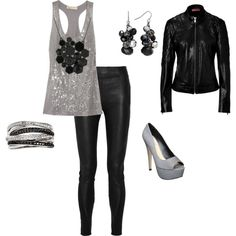 LOVE this New Years outfit, but with flats or boots instead