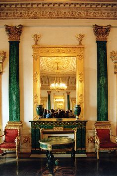 Peterhof Palace ~ St Petersburg, Russia
