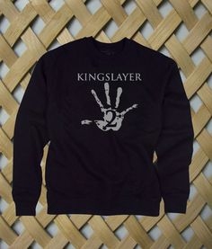 Kingslayer #sweatshirt #shirt #sweater #womenclothing #menclothing #unisexclothing #clothing #tups