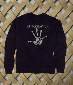 Kingslayer #sweatshirt #shirt #sweater #womenclothing #menclothing #unisexclothing #clothing #tups