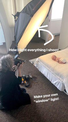 Craft Your Own Light Blueprint — Sandra Coan Education Studio Lighting Setups, Studio Setup, Studio Design, Portrait Lighting, Film Studio, Scene Image, Baby Photos, Seattle, Minimalist