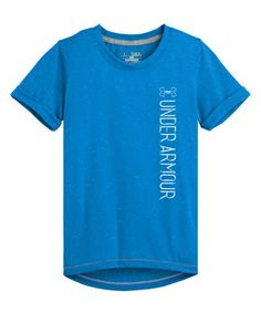 Loving this Electric Blue Speckle Tee - Girls on #zulily! #zulilyfinds