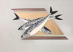 Papier découpé format 50X70, 2021 Fish Art, Playing Cards, Sailors, Papercutting, China Painting, Playing Card Games, Game Cards, Playing Card