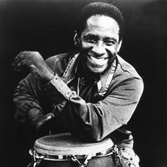 """Ramón """"Mongo"""" Santamaría Rodríguez (April 1917 – February was a rumba quinto master and an Afro-Cuban Latin jazz percussionist. He is most famous for being the composer of the jazz standard """"Afro Blue"""", recorded by John Coltrane among others. Latin Music Artists, Jazz Artists, Jazz Musicians, All About Jazz, Jazz Standard, Blues, Afro Cuban, Jazz Poster, Cool Jazz"""