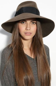 Eric Javits Rabbit Hair Felt Hat Nordstrom..... A great one, but I wish it wasn't bunny fur unless they ate the bunny. If an animal is killed for food, then honor the sacrifice it made by using every bit you can.