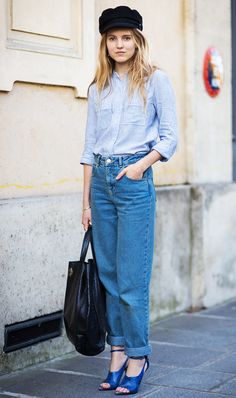 This Danish Stylist Has the Best Outfit Ideas via @WhoWhatWear
