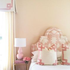 girly and classy bedroom design
