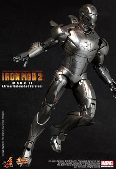toyhaven: Hot Toys Iron Man 2: Mark II (Armor Unleashed Version) PREVIEW