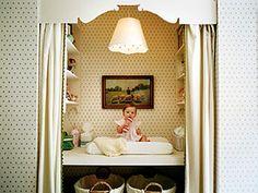 converting closet to nursery - Google Search