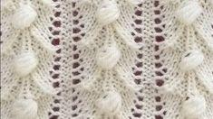 Yelek Örneği - Çam Fıstığı Modeli - Ajurlu Fıstıklı Örnek Knitted Baby Blankets, Baby Blanket Crochet, Crochet Baby, Knitting For Kids, Baby Knitting, Hairstyle Trends, Moda Emo, Fibre Textile, Knitting Videos