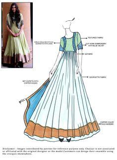 DIY #SonamKapoor Ankle Length #Anarkali Suit