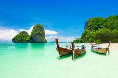 Some of the most beautiful places to take short trips from Singapore are Krabi, Malacca, Desaru, Bali, and Bintan. Enjoy your 2020 vacations on the beaches! Best Honeymoon Destinations, Amazing Destinations, Travel Destinations, Phuket, Bangkok, Railay Beach, Yacht Cruises, Hotels, Ardennes