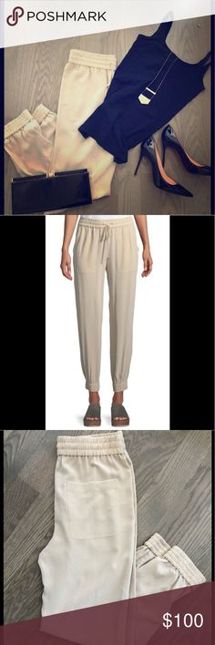 bdbb5f7c8f NWT - Theory Silk Joggers These are dynamite! 100% luxurious silk with  drawstring elastic