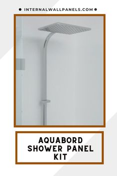 Aquabord White Gloss laminate wall panels are surfaced in a high quality laminate and offer all the advantages of a hardwearing decorative surface that is easy to maintain. Aquabord is warm to the touch and provides a practical and tactile alternative to tiles. Shower Wall Kits, Bathroom Shower Panels, Laminate Wall Panels, Base Trim, Tiles, Alternative, Chrome, Surface, Touch