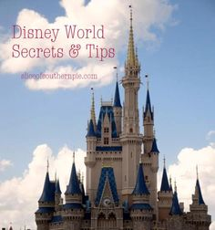 AWESOME compilation of tips for each park!  Even as a veteran Disney-goer....lots of new info!!!
