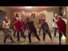 My family's annual Christmas tradition is to make a dance to a Christmas song. There are 8 children in my family and half of us are now married with our own ...