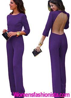 New2World Women's Sexy Bakless Half Sleeve Long Jumpsuit Bodysuit Review - http://womensfashionista.com/new2world-womens-sexy-bakless-half-sleeve-long-jumpsuit-bodysuit-review/ #Bakless, #Bodysuit, #Jumpsuit, #Long, #New2World, #Review, #Sexy, #Sleeve, #Womens, #WomensJumpsuits