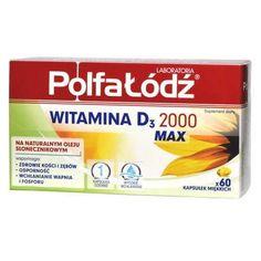 Vitamin D3 2000 Max x 60 capsules