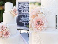 pink wedding cake | CHECK OUT MORE IDEAS AT WEDDINGPINS.NET | #weddingcakes