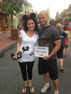 Maternity TShirt Disney MommyToBe and Baby Mickey by SherisShoppe, $40.00.    I WOULD LOVE TO DO THIS ONE DAY