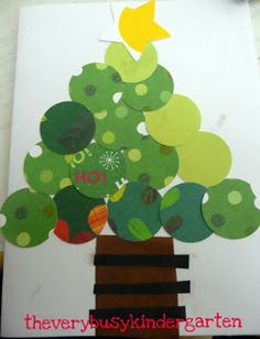 The Very Busy Kindergarten: Christmas Cards for the Elderly