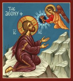 the Agony Christian icon