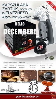 Hello December, Black Coffee, Healthy, Dolce Gusto, Health