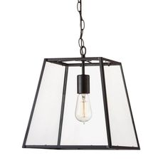 Glass Cube Pendant - All Pendants - Pendants - Lighting & Fans Front Door Lighting, Entry Lighting, Lighting Sale, Lighting Ideas, Outdoor Pendant Lighting, Industrial Pendant Lights, Ceiling Lamp, Ceiling Lights, Glass Cube