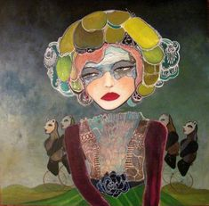 Realistic and fanciful charm of narrative paintings by Danielle Duer - ego-alterego.com