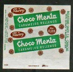 Chocomenta: deliciosos caramelos de menta rellenos de chocolate. Buenísimos en el cine...