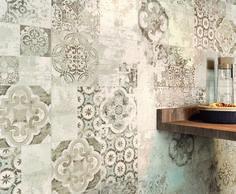 Terracruda decor tiles by Ragno from Tubs & Tiles