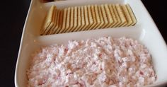 A family friend used to bring this yummy dip over for to my grandma's. She finally asked for the recipe and found out it is quite simple. I ...