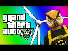 GTA 5 Online: Windmill Bridge of Death & Red vs. Blue (GTA 5 Fun Jobs) - YouTube