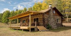 Estately New Mexico Cabin - Rustic Log Cabin for Sale
