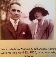 The Col. And Mrs. Francis A. Markoe Family