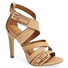 ISOLA 'Barina' nude sandal. Find more nude heels on #nudevotion