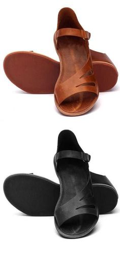 Dutiful Brand Sport Sandals Men Genuine Leather Sandals Soft Rubber Sole Summer Slippers Male Outdoor Shoes Sasual Sneakers Plus Size Discounts Sale Shoes