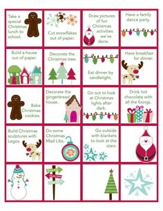 Download advent activity cards #1