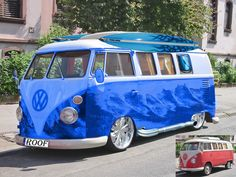volkswagen bus sweet paint job