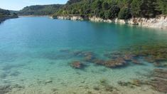 laguna lengua. Parque natural lagunas de Ruidera.