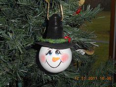 2005 Xmas Ornament-Snowman