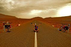 Long Road to Gabes ! Sahara Morocco